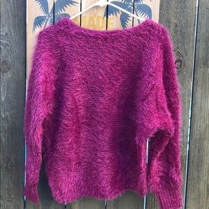 Sweaters - Mohair Raspberry sweater